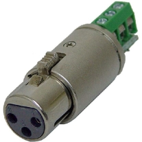 Rolls XLF112 Bare Wire to Female XLR Connector