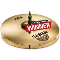 """Sabian 2160287XB AAX Xplosion 16"""" Hi Hat Cymbals"""