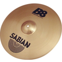 "Sabian 41608 B8 16"" Medium Crash Cymbal"
