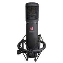 SE Electronics 2200A II Class A Multi Pattern Gold Diaphragm Microphone