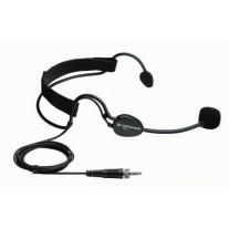 Sennheiser ME3EW Cardioid Electret Condenser Headset w/ Clip & Windscreen