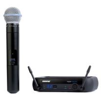Shure PGX Digital Handheld Wireless Mic System with Beta 58A Handheld Mic