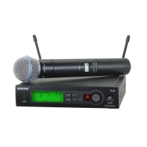 Shure SLX24/Beta 58 Handheld Wireless System