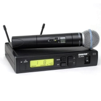 Shure ULXS24/Beta58 Frequency Agile HH System
