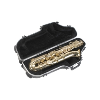 SKB SKB455W Contoured Pro Baritone Sax Case with Wheels