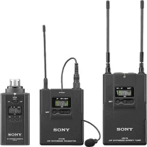 Sony UWP-V6 Wireless Plugin and Lavalier Microphone