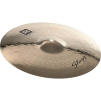 "Stagg DHCM17B Dual Hammered 17"" Crash Cymbal"