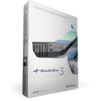PreSonus Studio One 3 Artist - Box, License, USB Media Stick