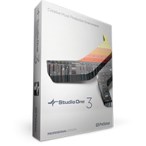 PreSonus Studio One 3 Professional - Box + License Bundle