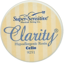 Super Sensitive 9251 Clarity Rosin for Cello