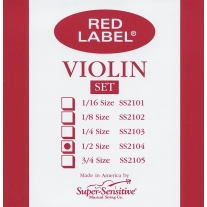 Super Sensitive SS4103 Medium Viola Strings Mini 12""