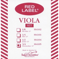 Super Sensitive SS4105 Medium Viola Set Intermediate 14""