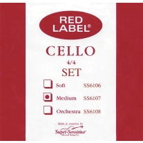 Super Sensitive SS6107 Medium Cello Strings 4/4