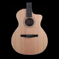 Taylor 214CEN Nylon String Grand Auditorium Acoustic Electric w/ Semi Hard Bag