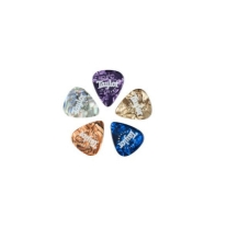 Taylor Marble Assortment Picks Thin .50mm ( 10-Pack )