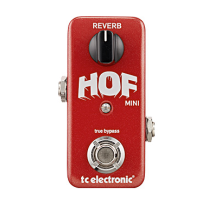 TC Electronic HOF Hall of Fame Mini Reverb Guitar Effects Pedal