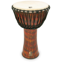 "Toca SFDJ14LB 14"" Djembe Drum with Bag Lava Finish"