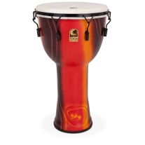"Toca SFDMX14FB 14"" Freestyle Djembe Drum with Bag in Fiesta Finish"