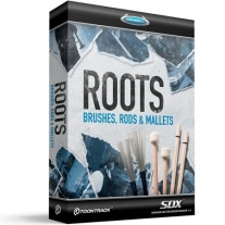 Toontrack TT158 Roots SDX Brushes, Rods, Mallets