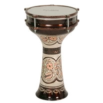 Tycoon TDACO22 Turkish Copper Darbuka Drum