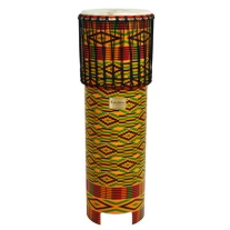 Tycoon TDDNGDWS Ngoma Drum with African Wrap Finish