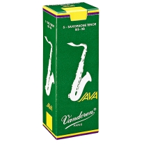 5 Pack of Vandoren 1.5 Tenor Saxophone Java Reeds