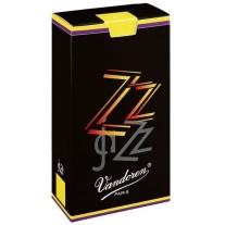 10-Pack of Vandoren 2 Alto Saxophone ZZ Reeds