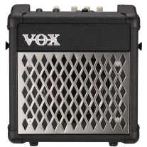 Vox MINI5R Modeling Guitar Amplifier with Rhythm and 11 Amp Sounds Black