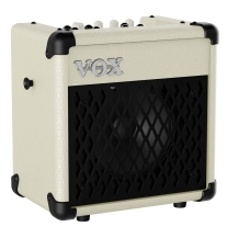 Vox MINI5R Modeling Guitar Amplifier in Ivory with Rhythm and 11 Amp Sounds