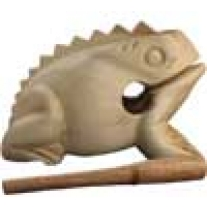 Wooden Percussion Frog Noise Maker Medium Size