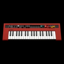 Yamaha Reface YC Mobile Mini Combo Organ Synthesizer with Built-In-Effects