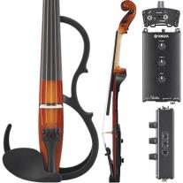 Yamaha SV255 Pro Series 5 String Silent 4/4 Violin Shaded Brown Finish