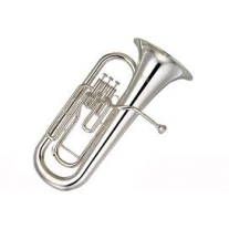 Yamaha YEP201 Silver Plated Standard Euphonium Key of Bb with Cas