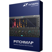 Zynaptiq PITCHMAP Pitch Processing Software