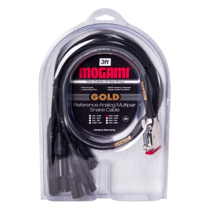 pro audio snakes altomusic com (844) 248 3216mogami gold db25 xlr male 3ft custom cable, 8 channel db25 to