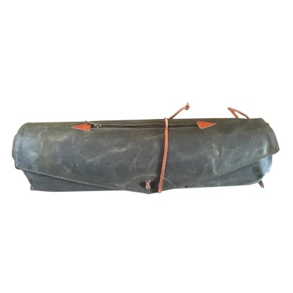 Tackle Instrument Supply Waxed Canvas Roll Up Case - Forest Green 474473a0405fd