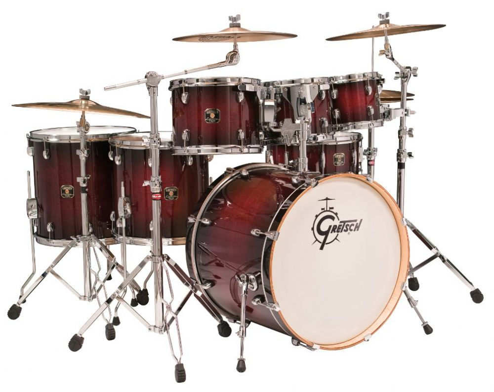 2f2fb038bccc Gretsch Catalina Maple 6pc Shell Pack Drumset in Deep Ch...