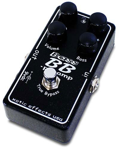xotic effects bb preamp bass guitar pedal ebay. Black Bedroom Furniture Sets. Home Design Ideas