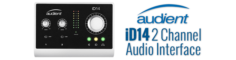 audient id14 high performance usb audio interface. Black Bedroom Furniture Sets. Home Design Ideas