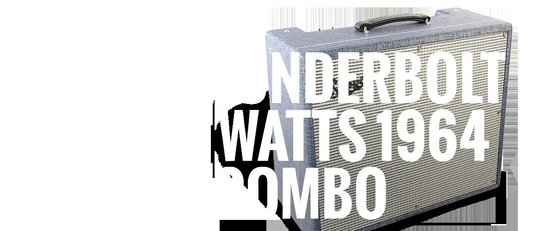"""Supro s6420 Thunderbolt 1x15"""" 35 Watts 1964 Reissue Combo"""