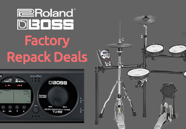 Roland & Boss Factory Repacks