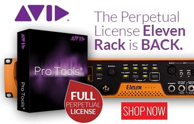 Avid Eleven Rack w Pro Tools