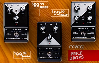 Moog Price Drops