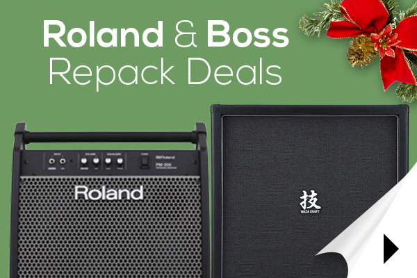 Roland & Boss Factory Repacks